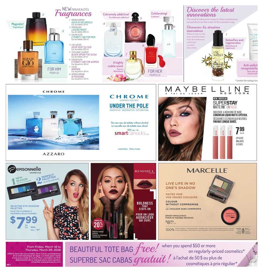 Jean Coutu On Beauty Insert March 16 To 29