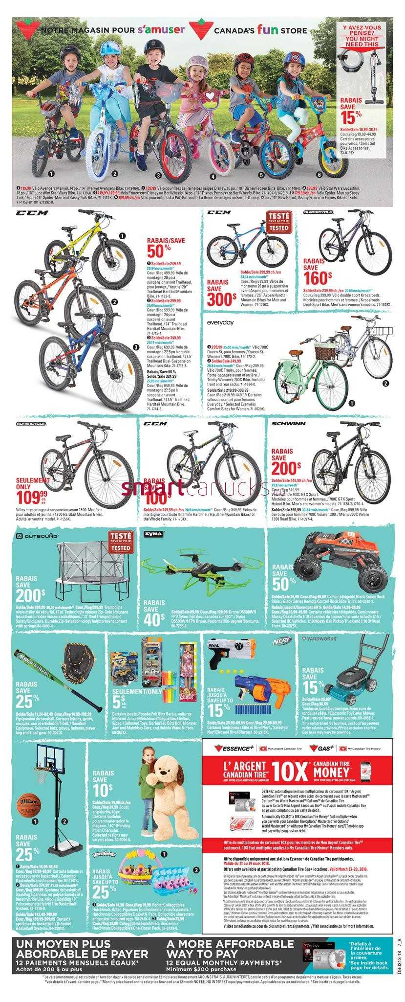 Canadian Tire (QC) Flyer March 22 to 28