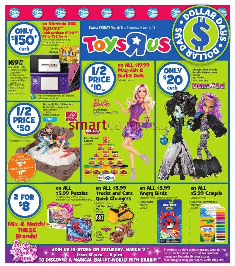 R Flyers Toys R Us flyer Mar 8 ...