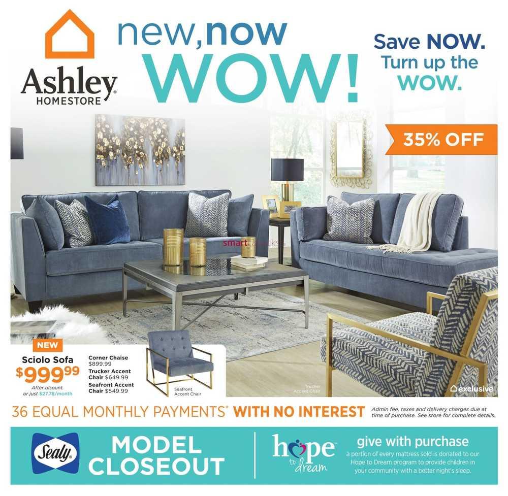 Homestore Inc: Ashley HomeStore Canada Flyers
