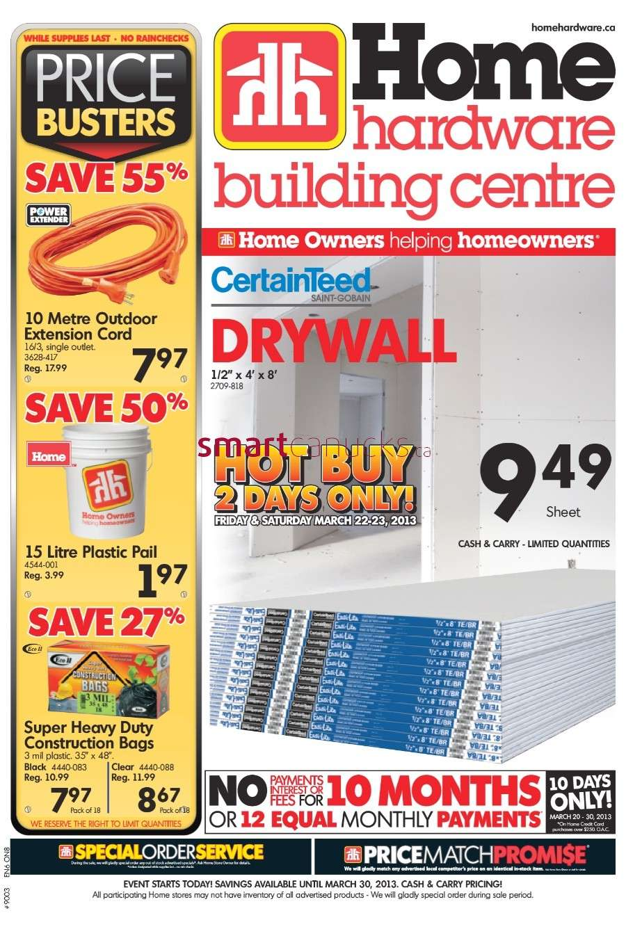 Home Hardware Foyer : Home hardware flyer mar to