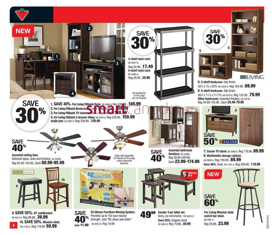Stupendous Canadian Tire Flyer Mar 22 To 28 Home Interior And Landscaping Dextoversignezvosmurscom