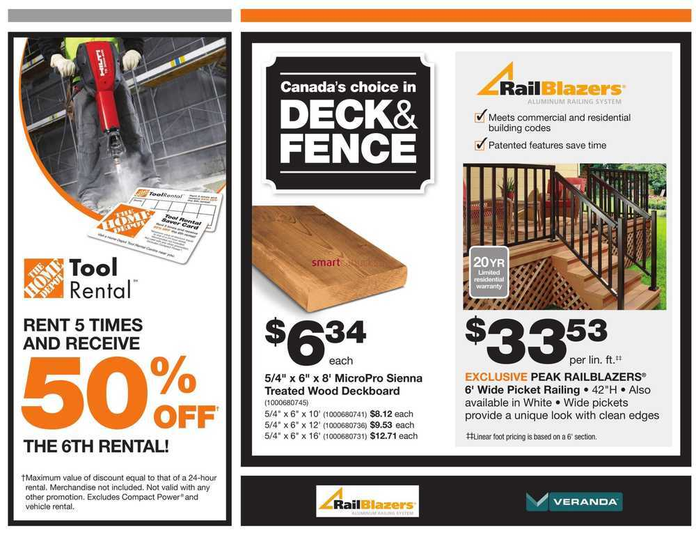 Home Depot Pro Savings Flyer May 29 to June 12