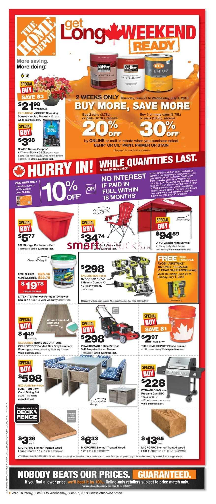 images home depot. Home Depot (ON) Flyer June 21 To 27 Images