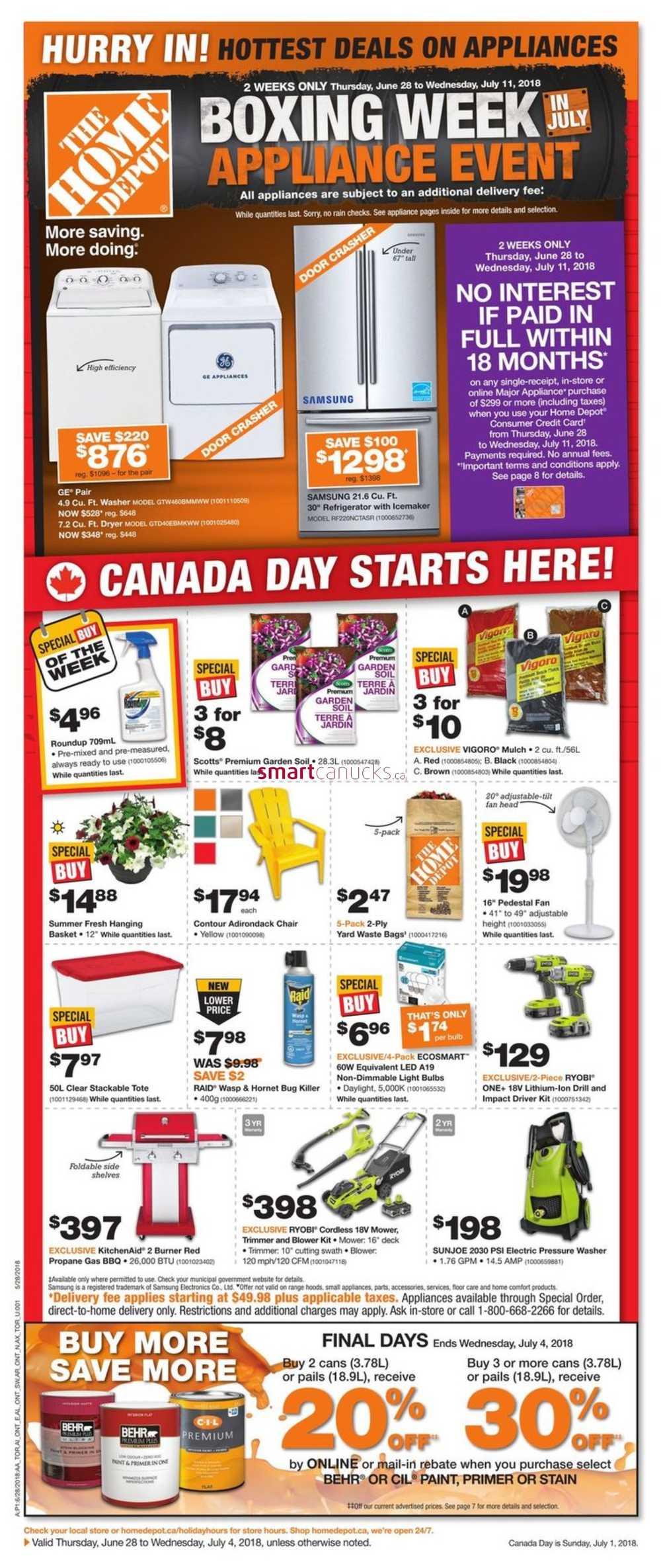 images home depot. Home Depot (ON) Flyer June 28 To July 4 Images