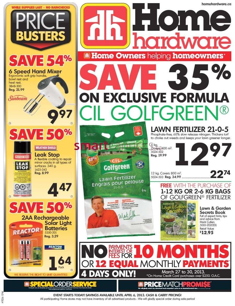 Home Hardware Foyer : Home hardware flyer mar to feb