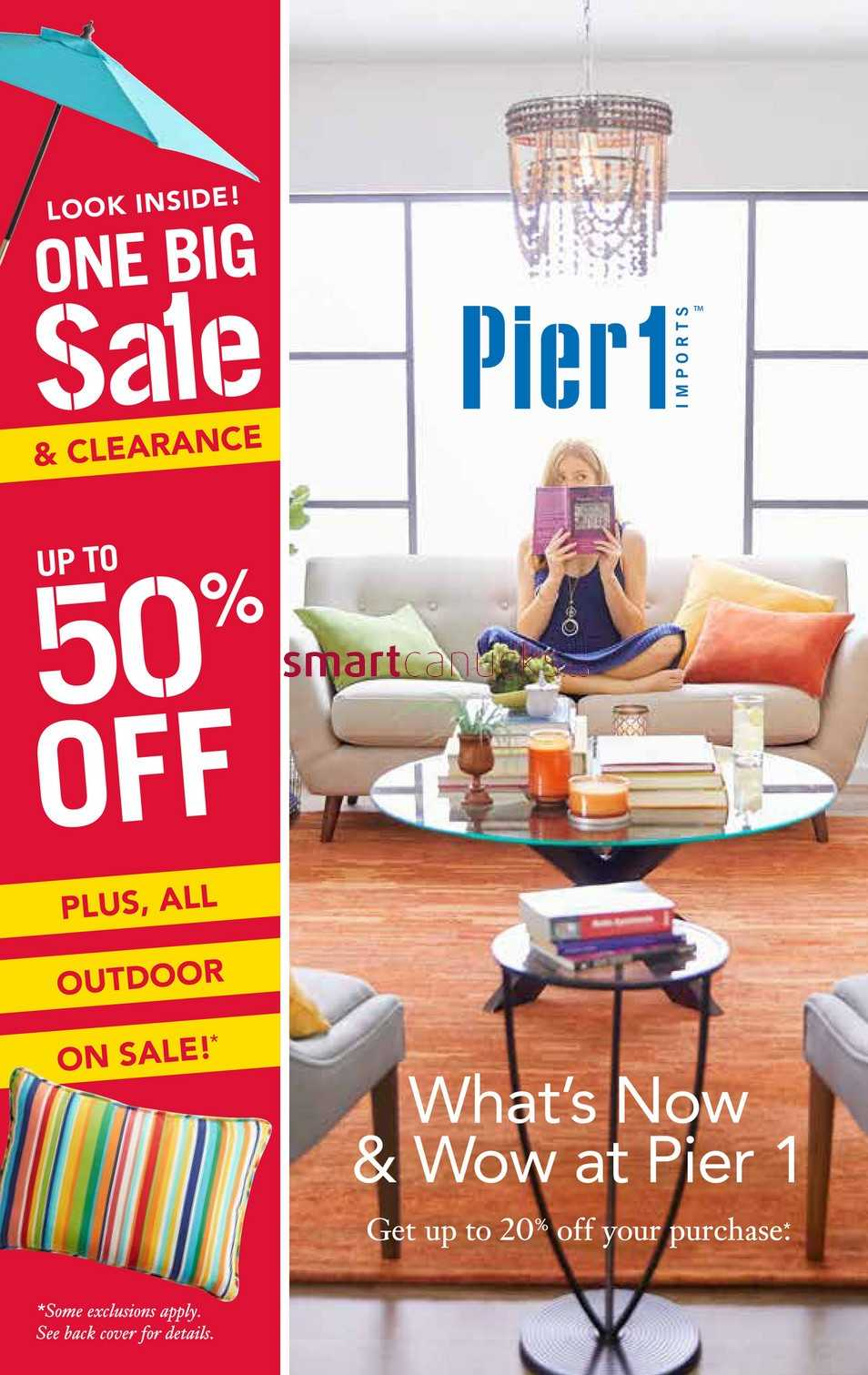 Pier 1 Imports Canada Flyers