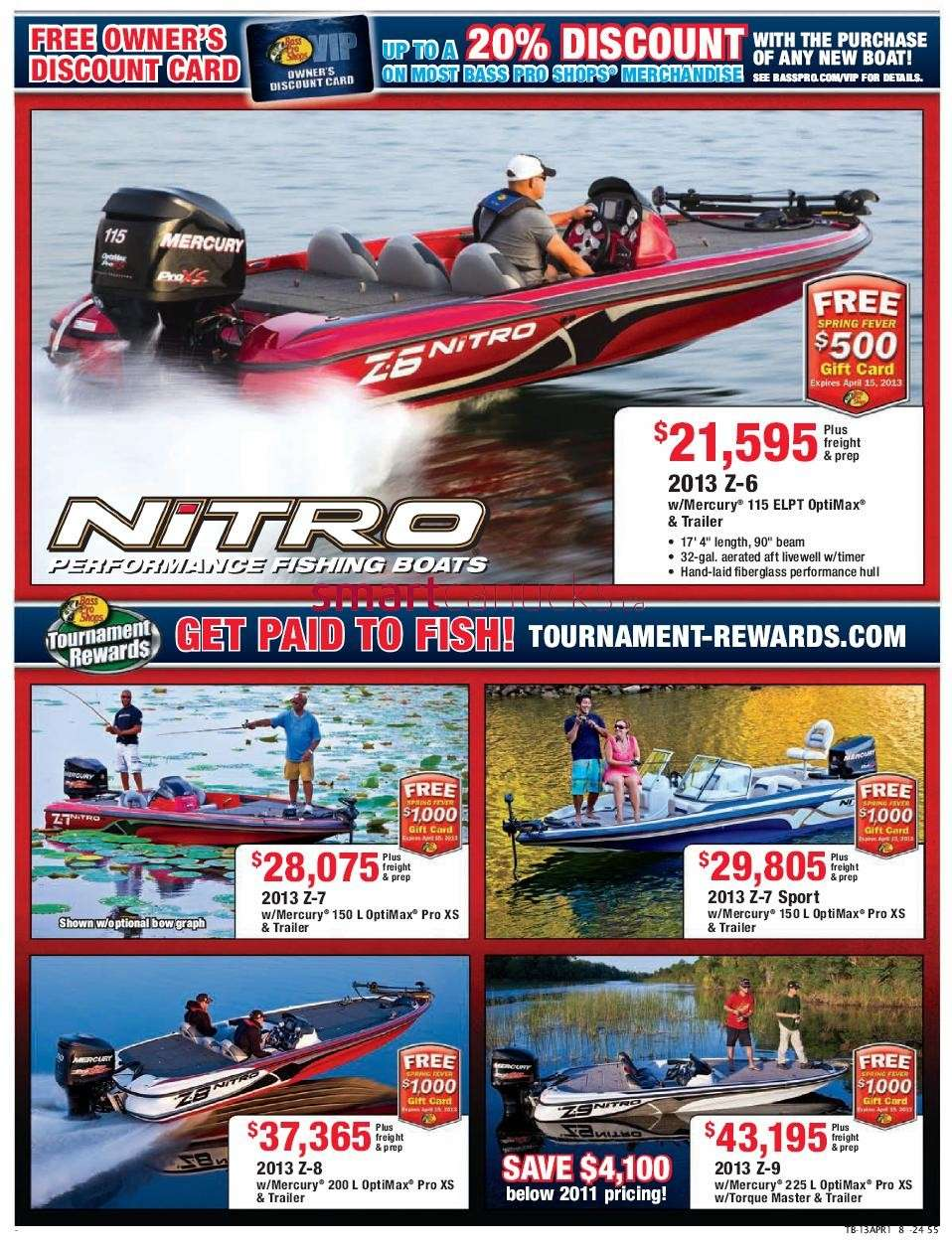 Bass pro shops spring fishing sale flyer apr 1 to 14 for Bass pro fishing sale