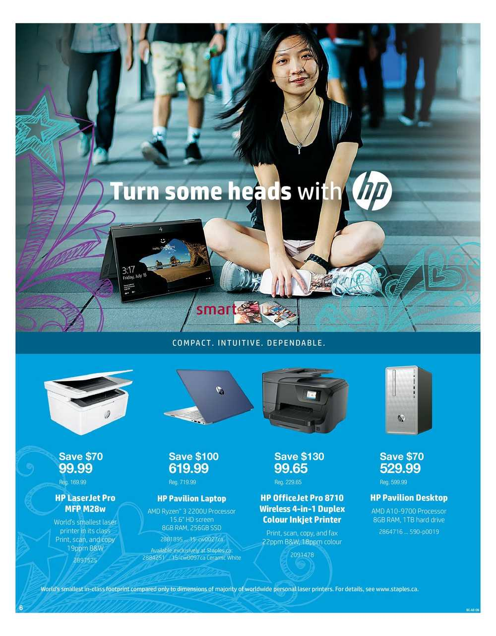 staples back to school tech flyer august 22 to september 4