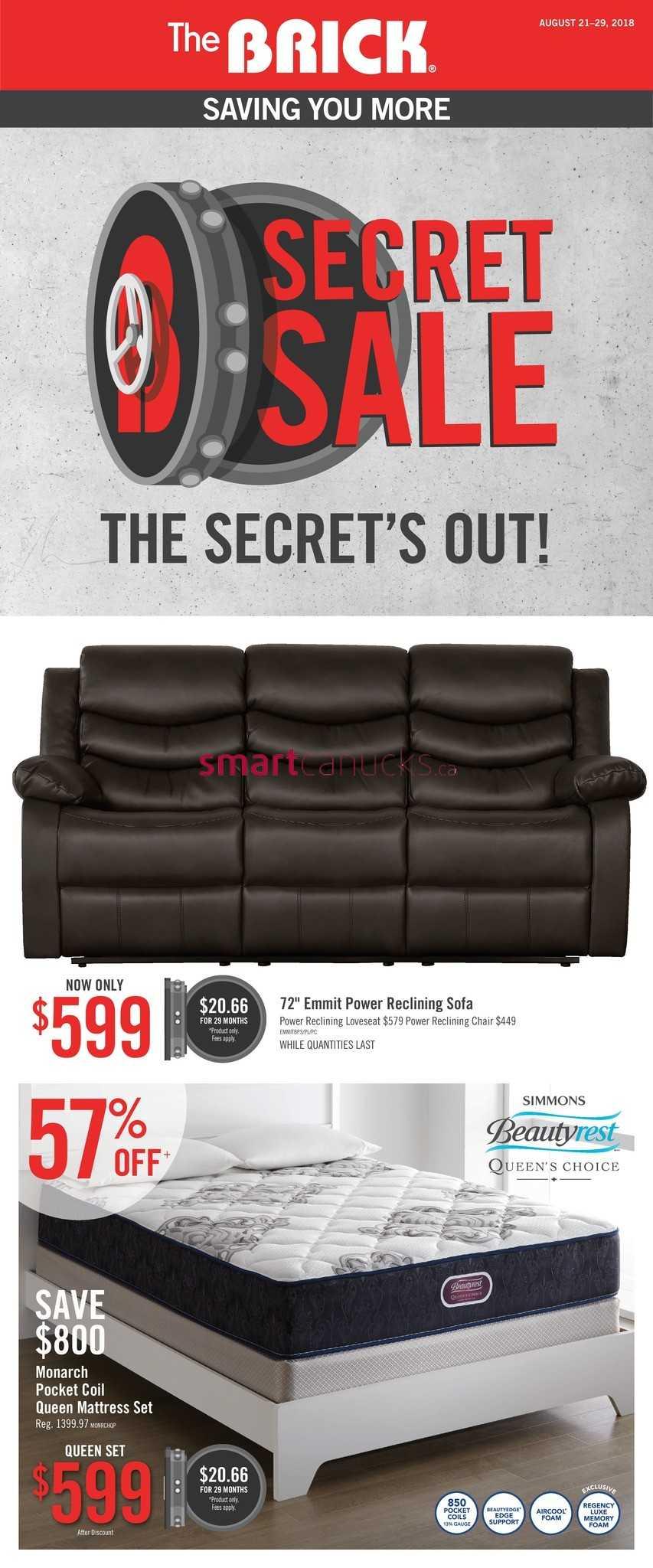 Awesome The Brick Flyer August 21 To 29 Spiritservingveterans Wood Chair Design Ideas Spiritservingveteransorg