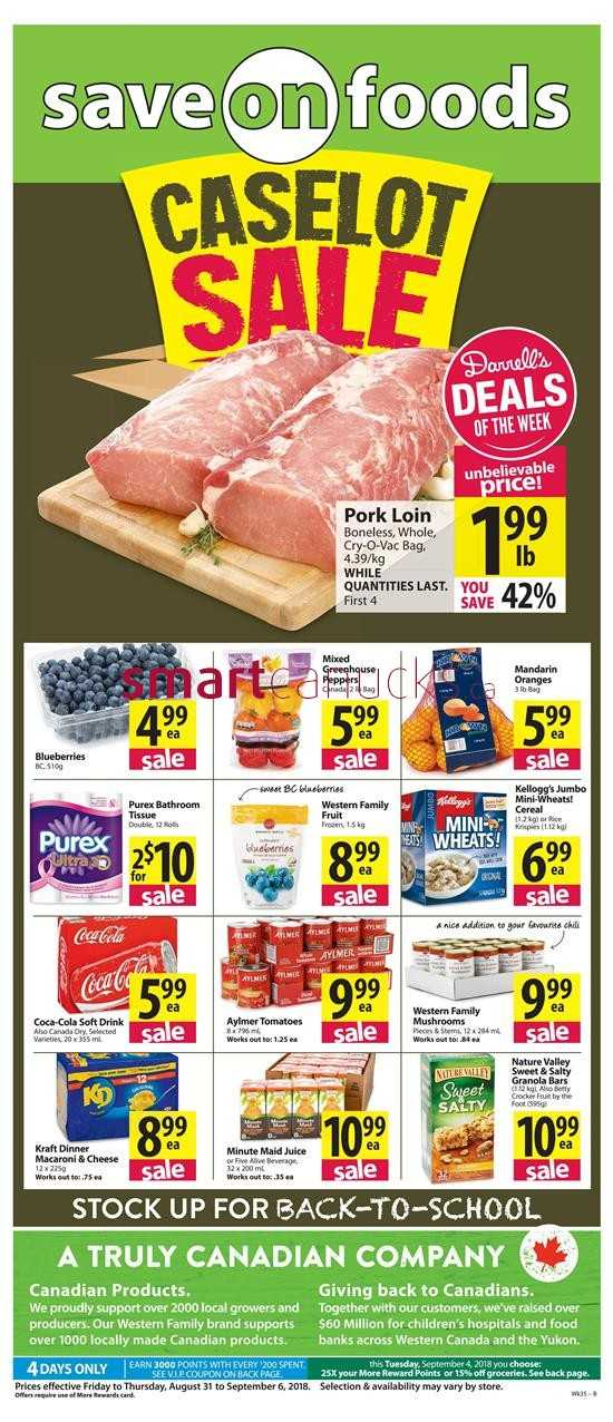 Redflagdeals Save On Foods
