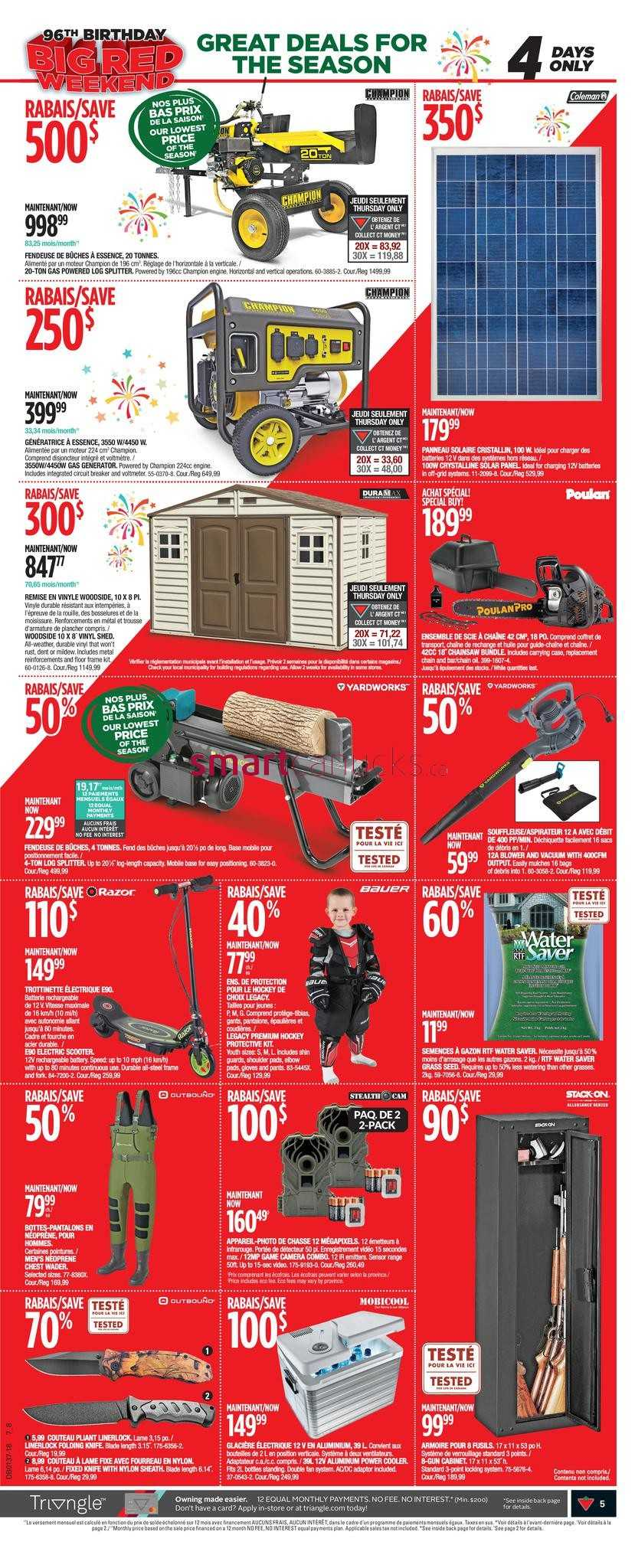Canadian Tire (QC) Flyer September 6 to 12
