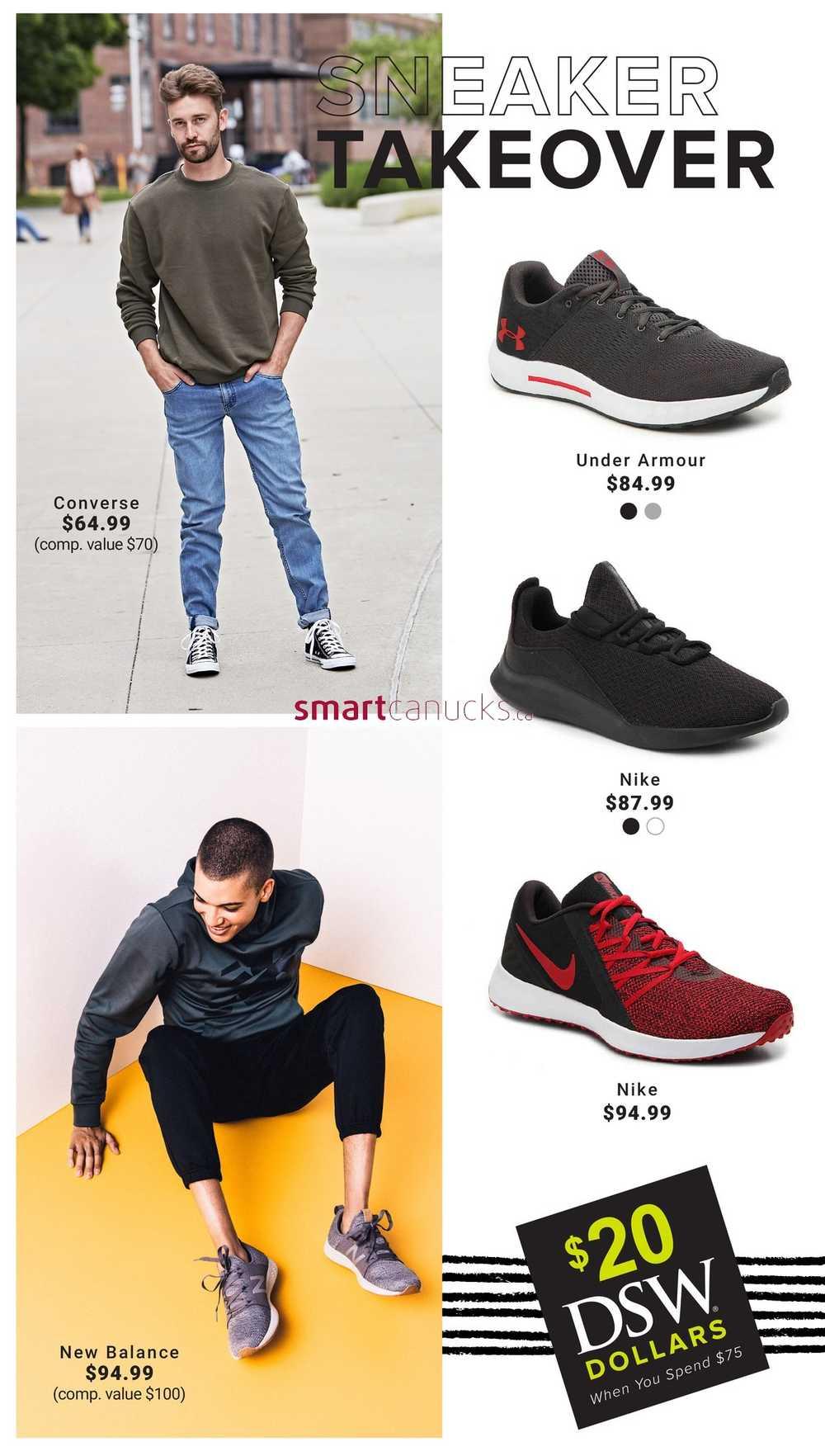 347c85468740fd DSW Designer Shoe Warehouse Flyer September 14 to 21