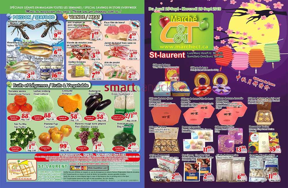 Marche C&T Canada Flyers