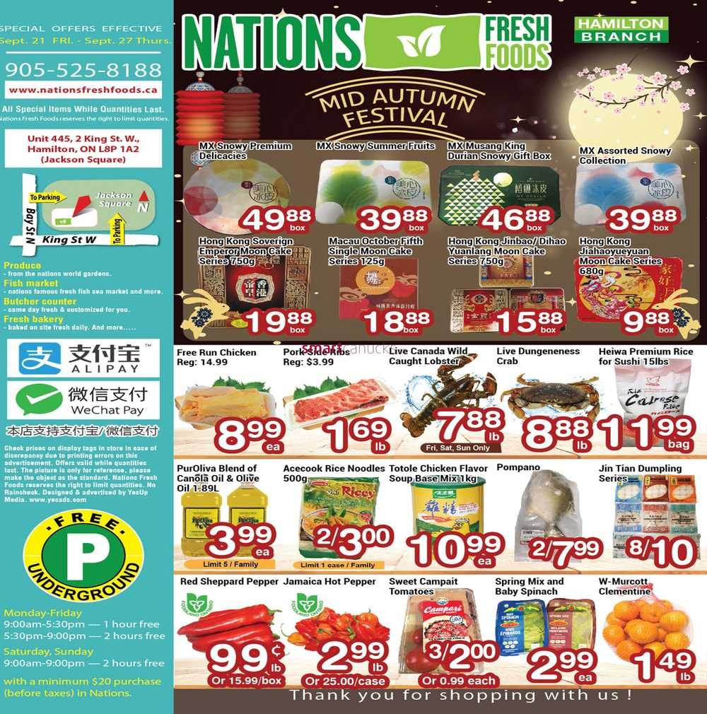 Nations Fresh Foods Canada Flyers
