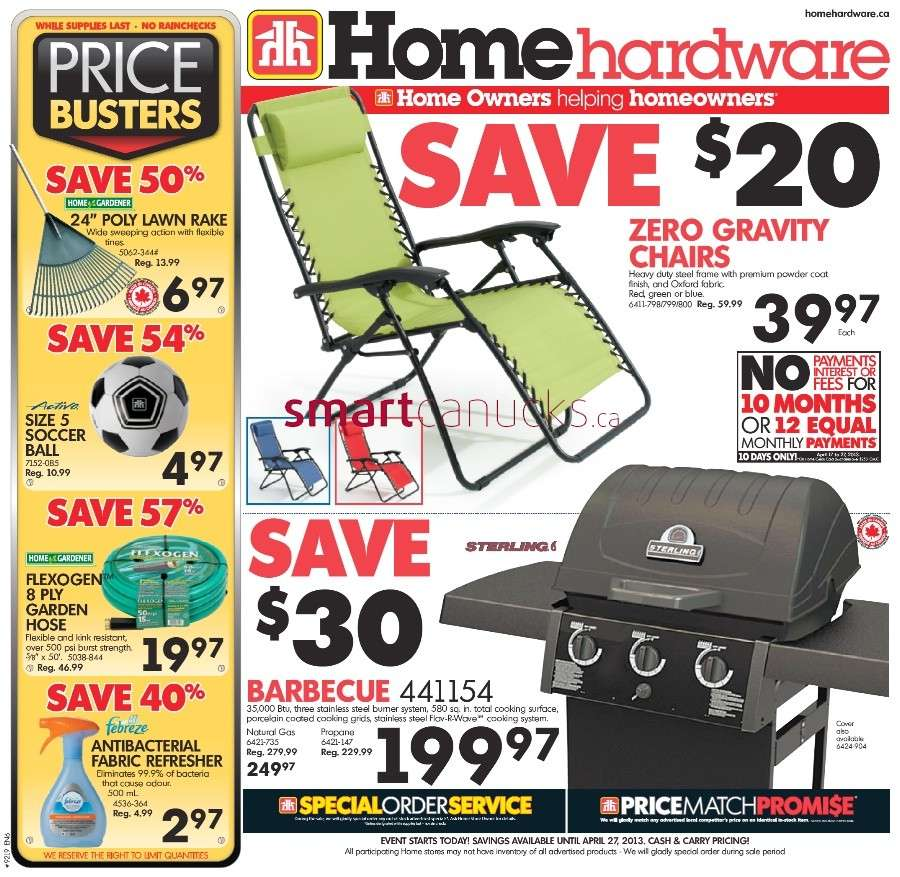 Home Hardware Foyer : Home hardware flyer apr to
