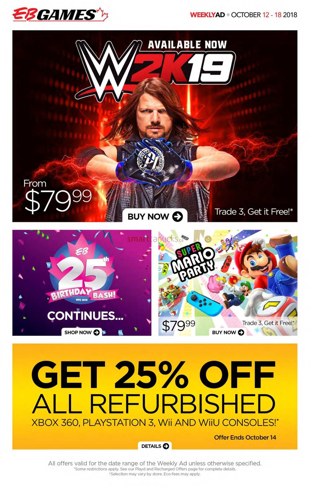 [EBGames] Pages 2, 3, and 4 of the Black Friday flyer are ...