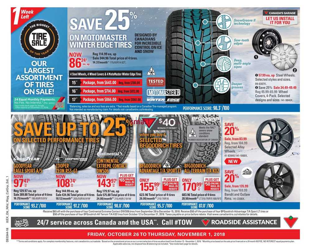 Canadian Tire On Flyer October 26 To November 1