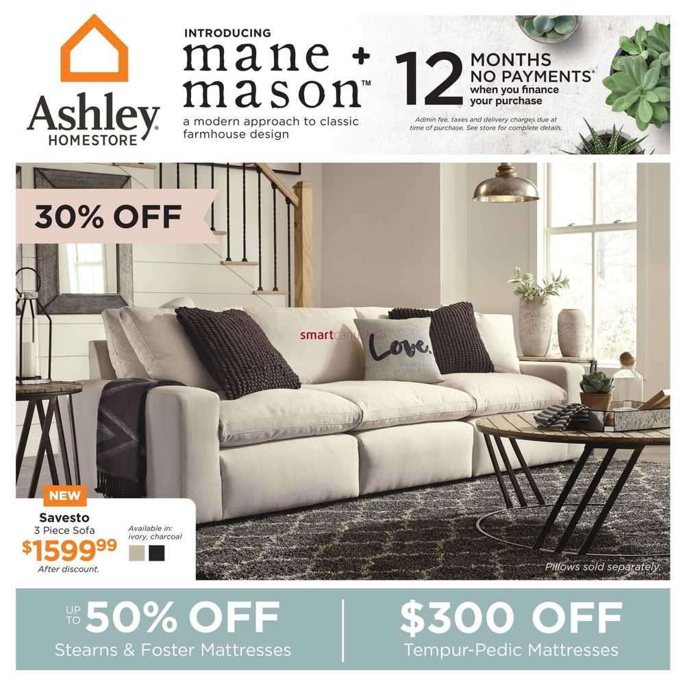 Ashley Homestore Canada Flyers