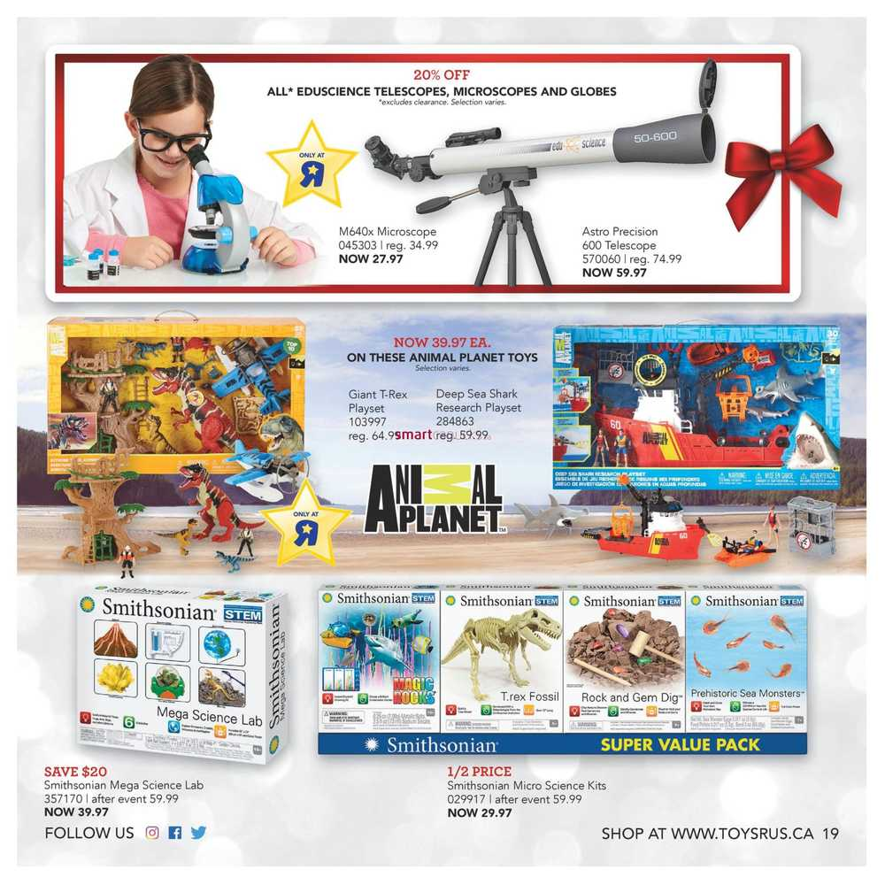 Toys R Us Ultimate Toy Guide November 2 to 15