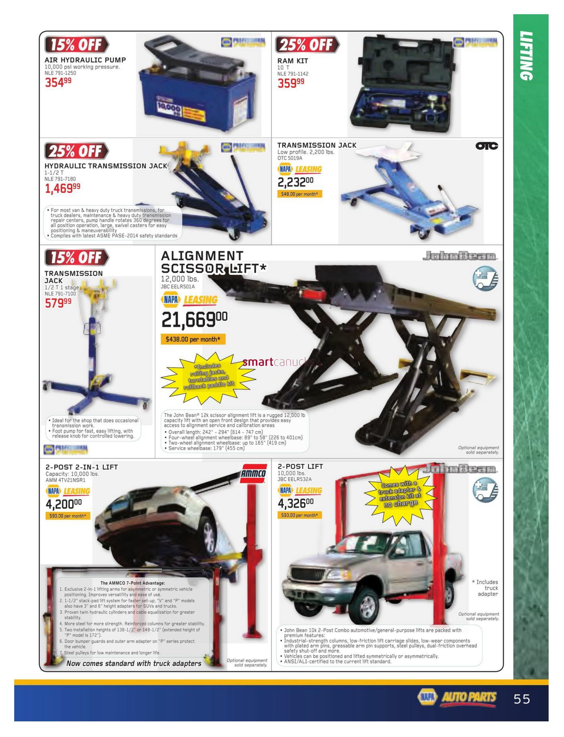 NAPA Auto Parts Real Deals Flyer November 1 to December 31