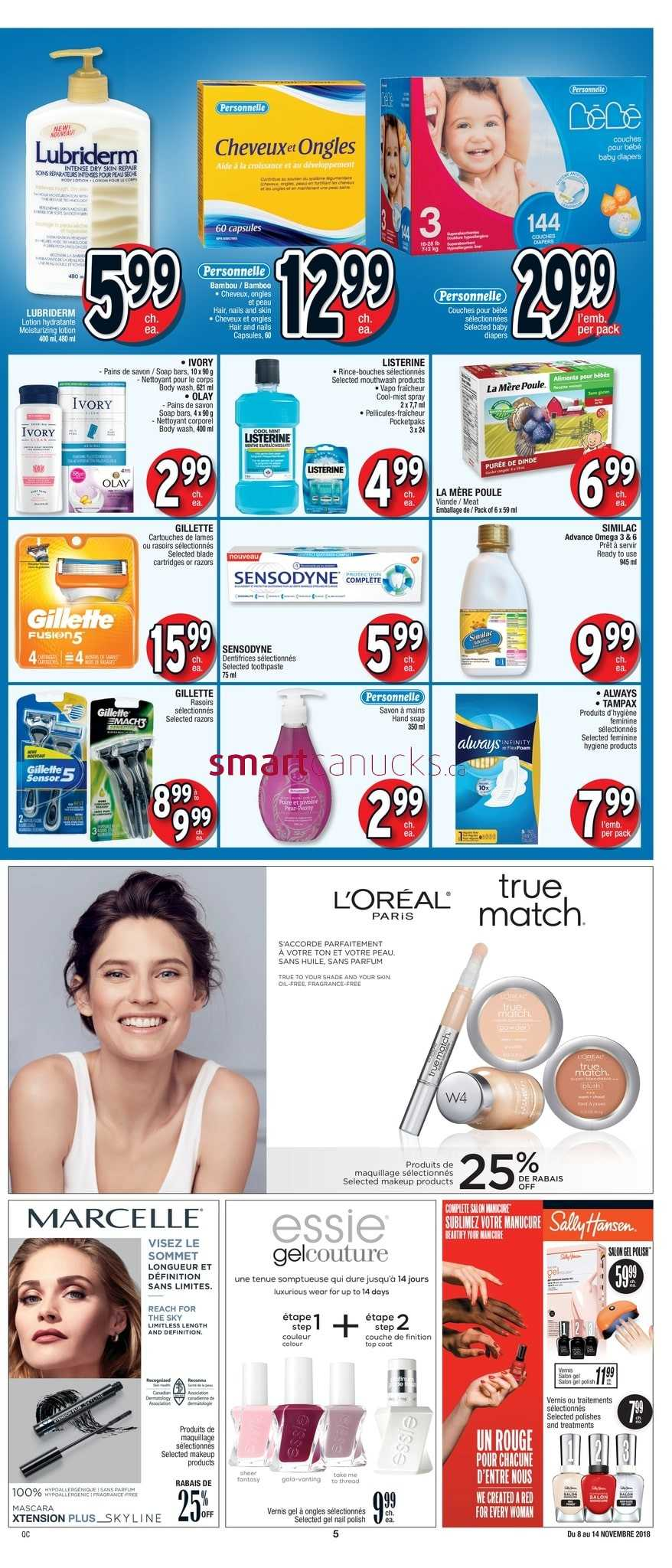 Jean Coutu Qc Flyer November 8 To 14