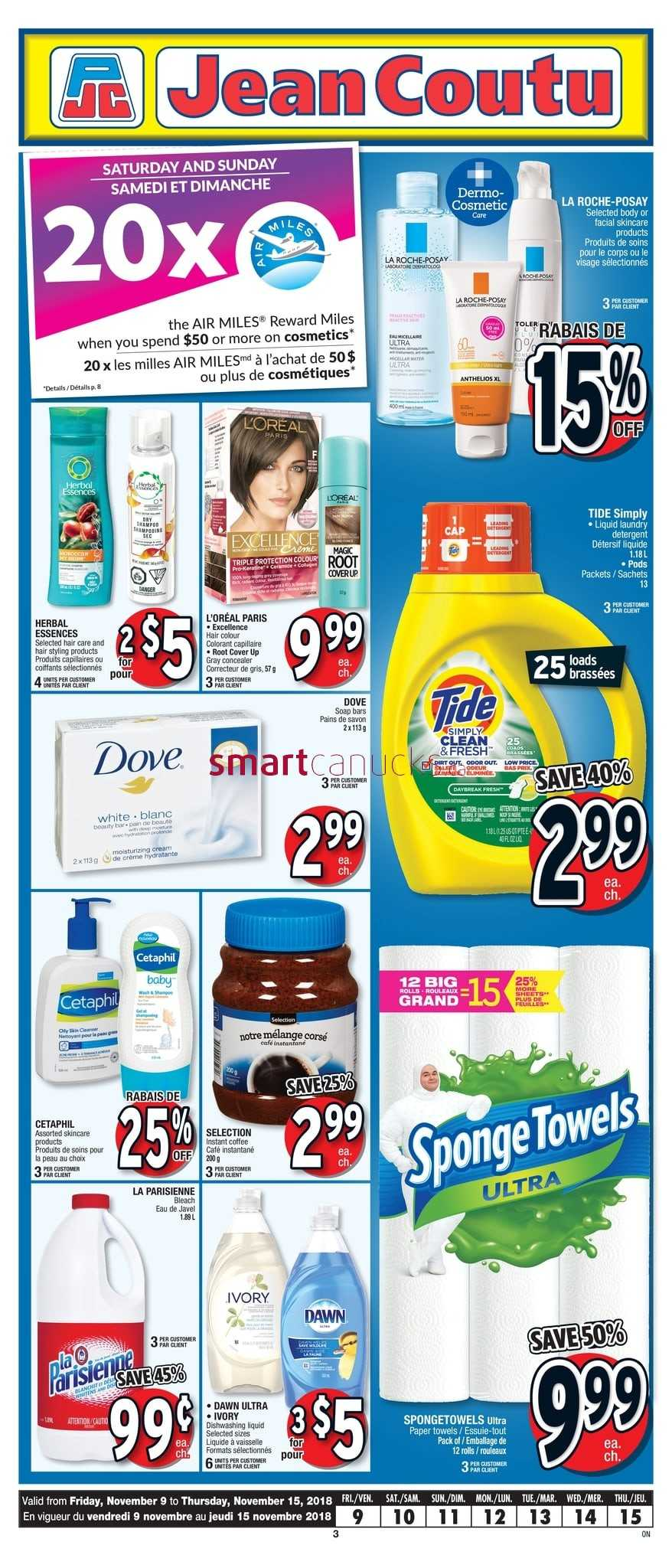 Jean Coutu On Flyer November 9 To 15