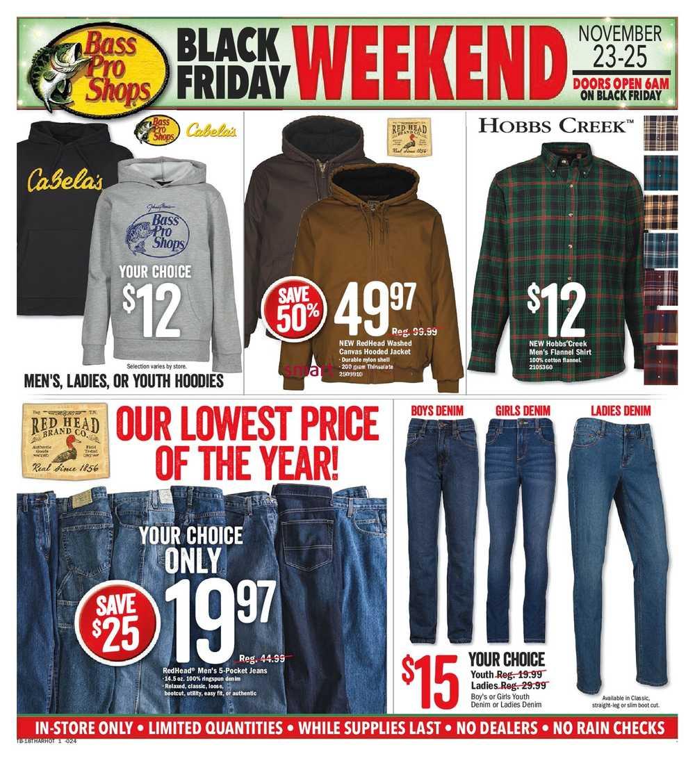 Bass Pro Shops Black Friday Flyer November 21 to December 2 85ec56fc3