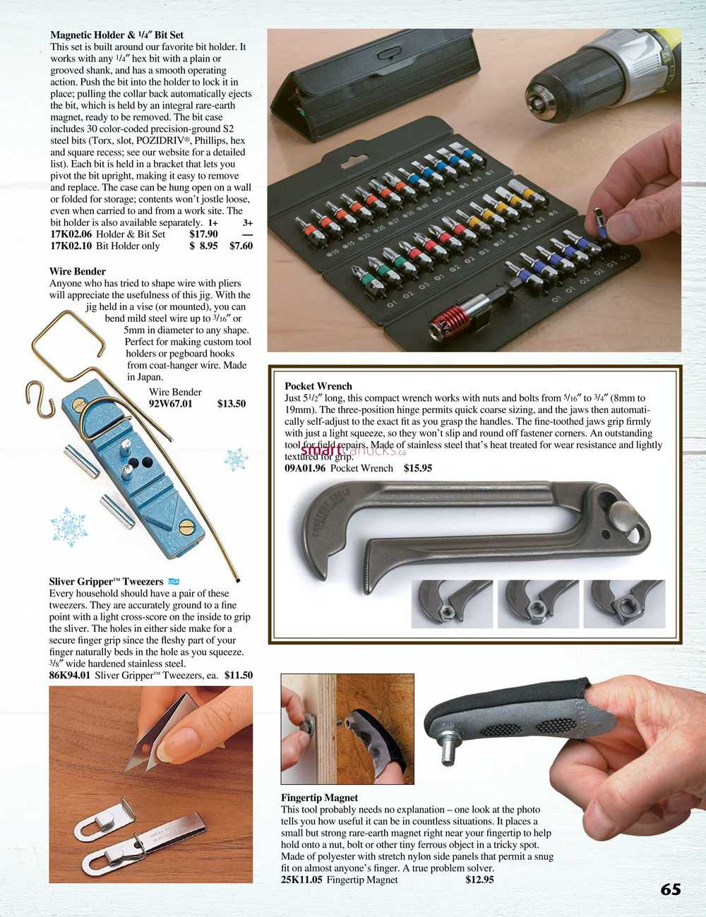Lee Valley Tools Christmas Gift Catalogue 2018