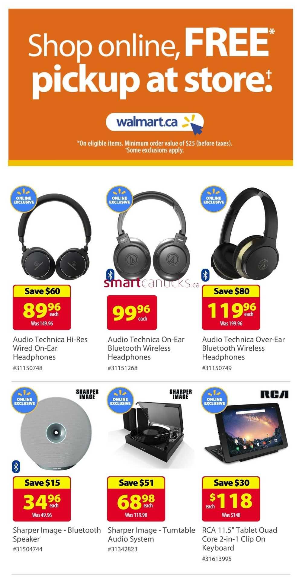 Walmart Cyber Monday Flyer November 26 To 29 2018 Walmart Canada Flyers Coupons Sales