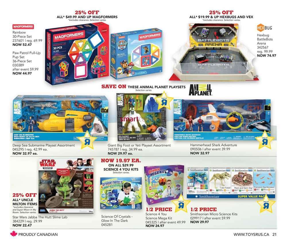 Toys R Us Flyer December 7 to 13