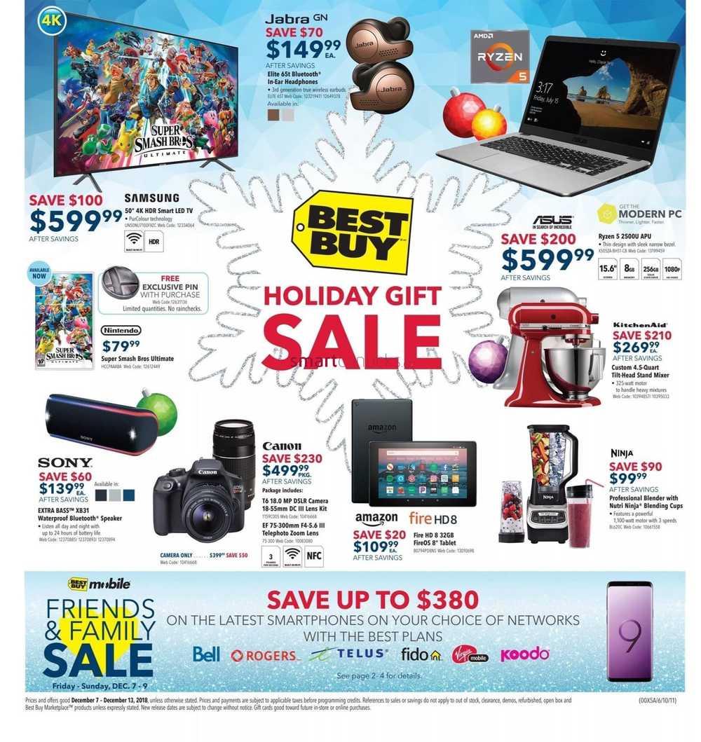 Best Buy Flyer December 7 To 13