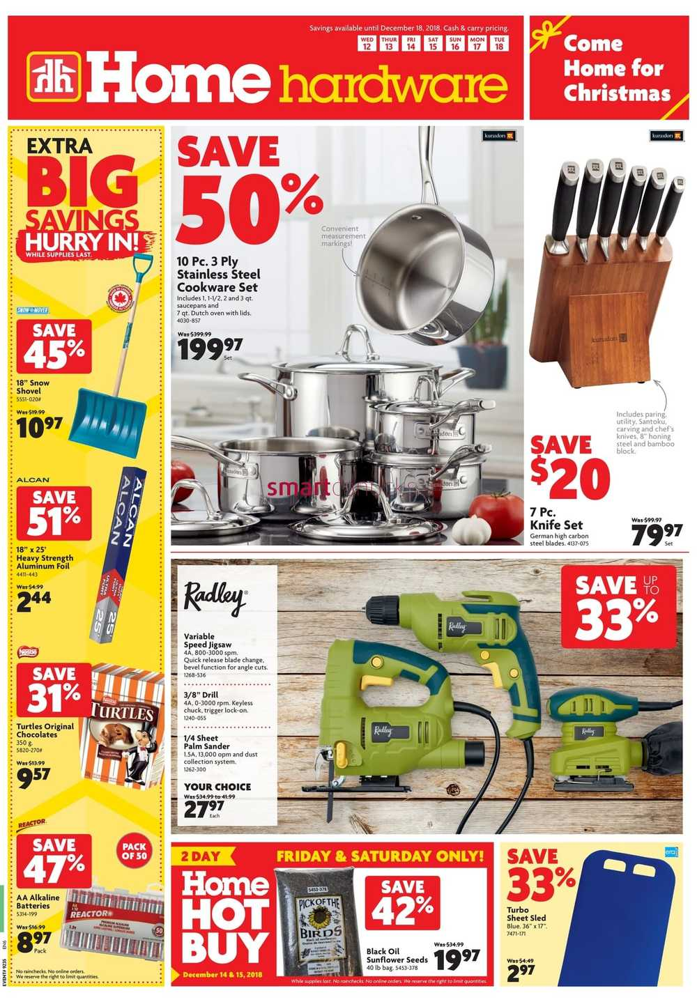 Home Hardware (ON) Flyer December 12 To 18