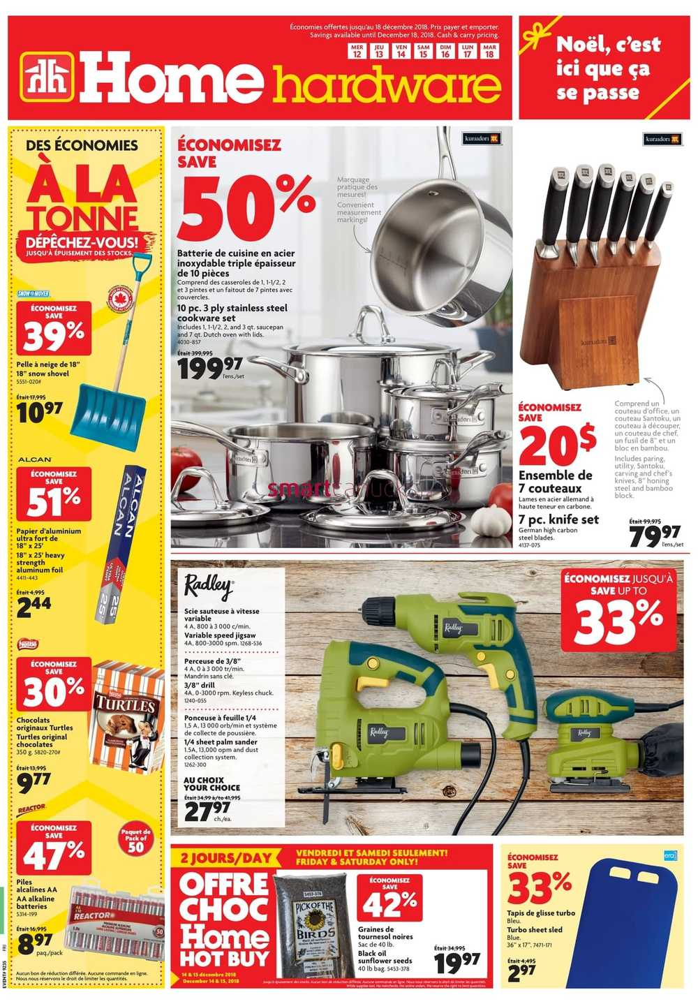 Home Hardware (QC) Flyer December 12 To 18