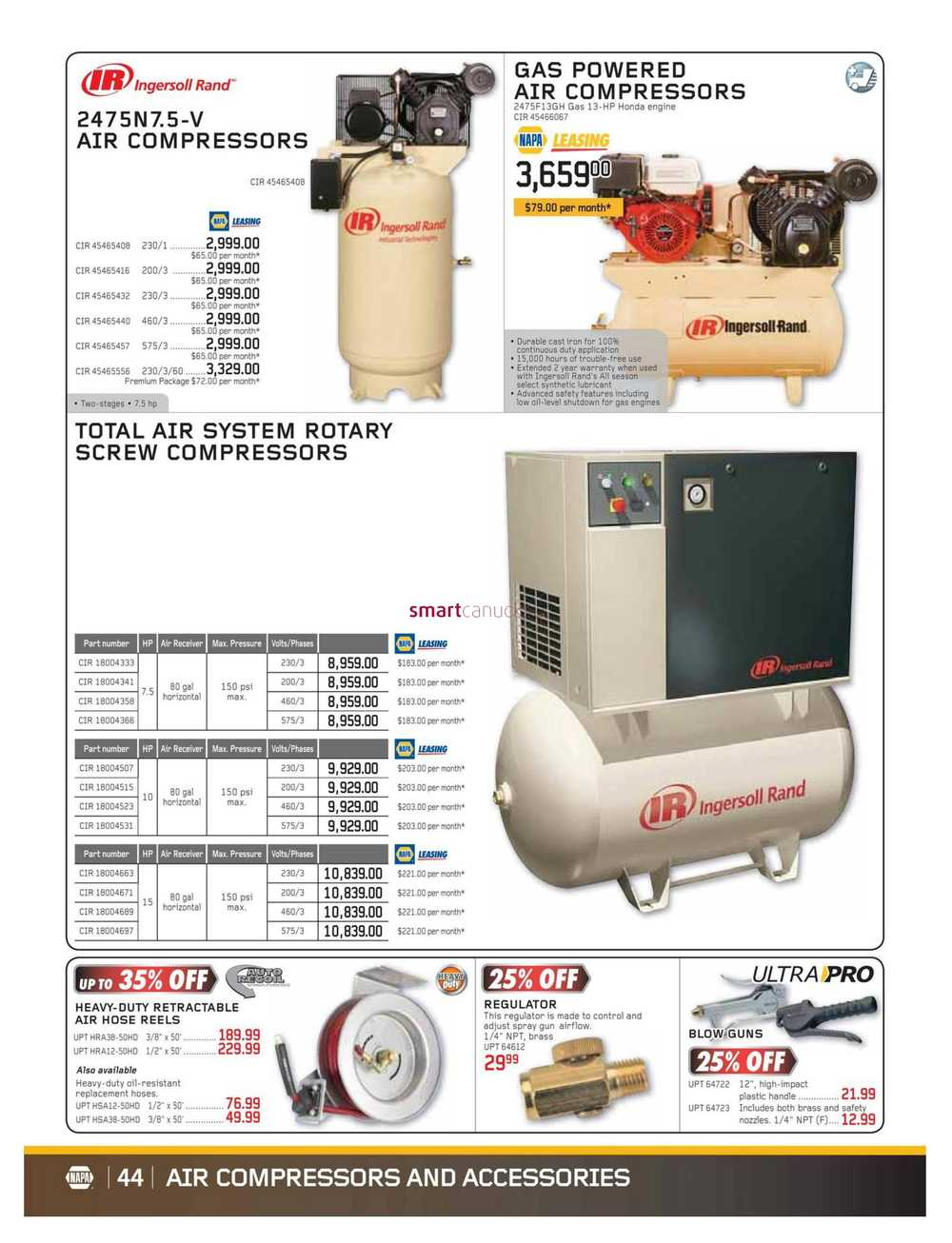 NAPA Auto Parts Real Deals Flyer January 1 to February 28