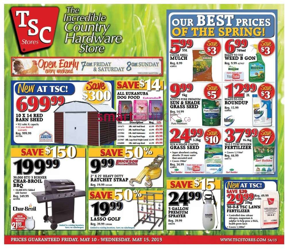 TSC Stores flyer May 10 to 15