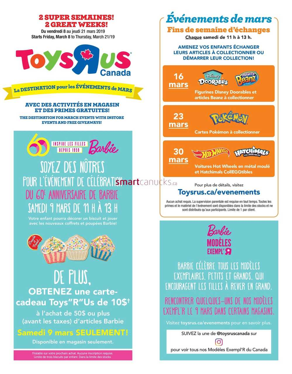 8938bf320 Toys R Us Canada Flyers
