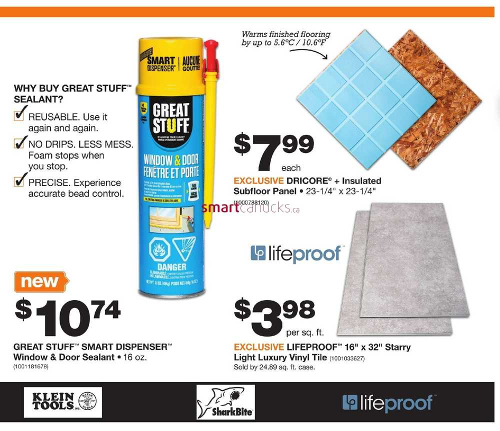 Home Depot Pro Flyer March 19 to April 2
