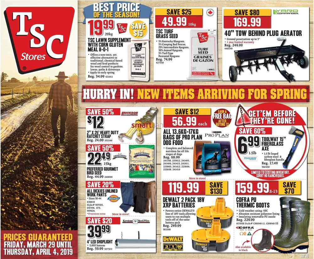 TSC Stores Flyer March 29 to April 4