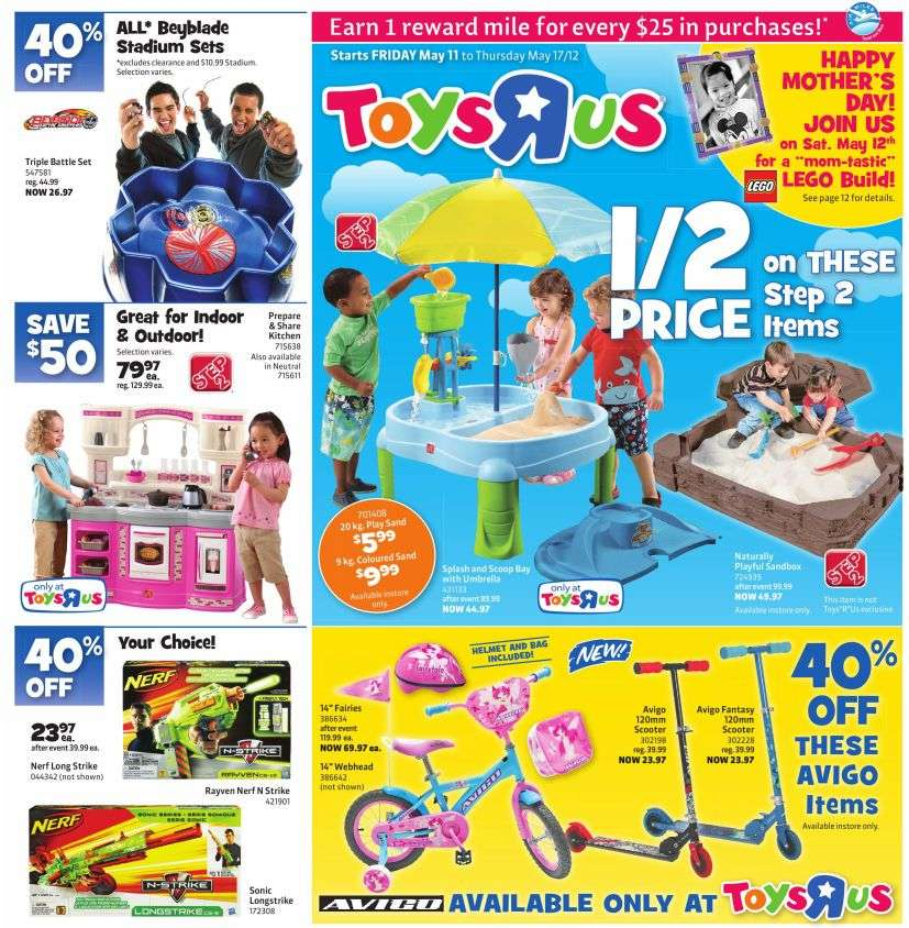 R Flyers Toys R Us flyer May 11...