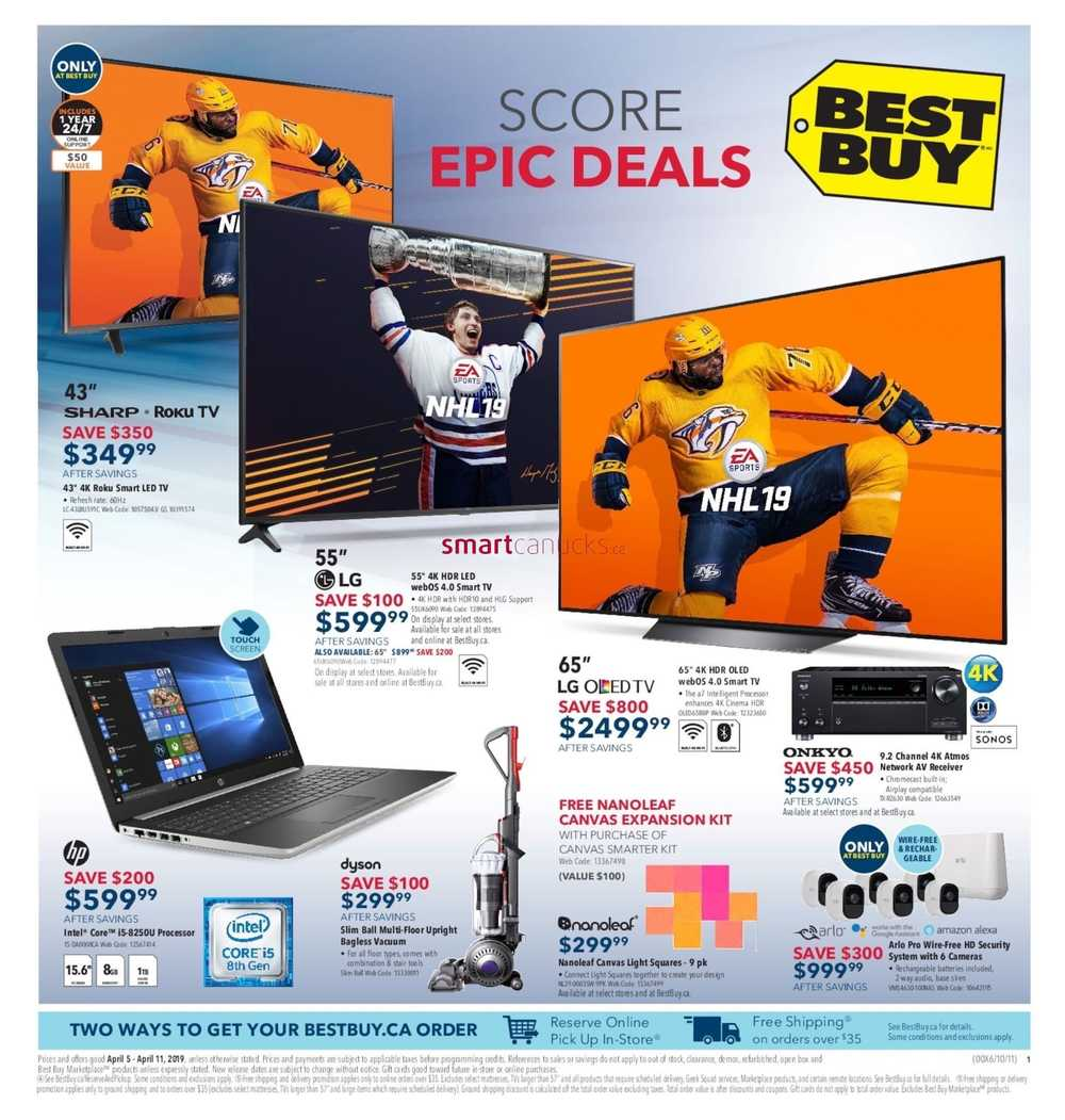 59755505f12 Best Buy Flyer April 5 to 11