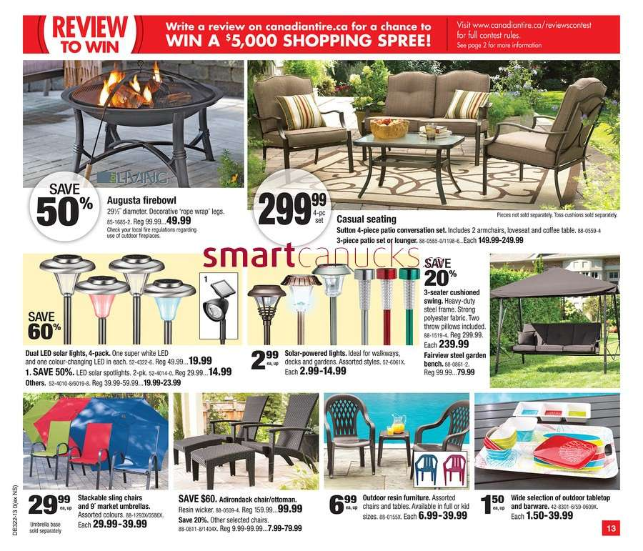 Canadian Tire Flyer May To