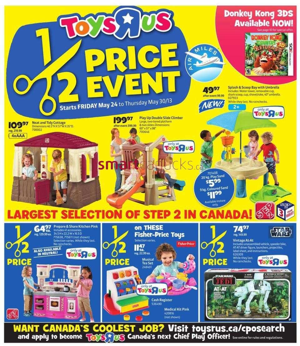Toys R Us Flyer : Toys r us flyer may to