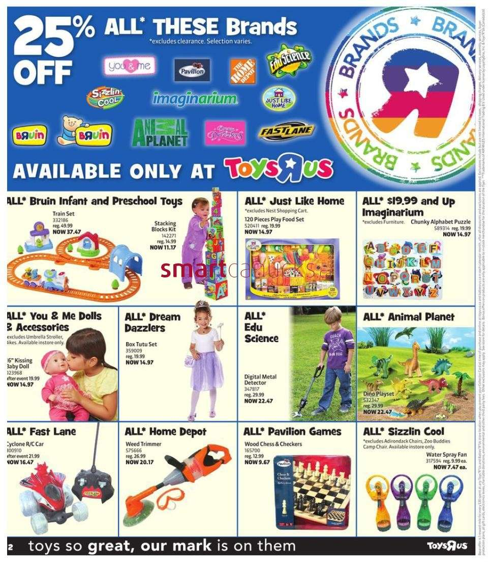 R Flyers Toys R Us flyer May 24...
