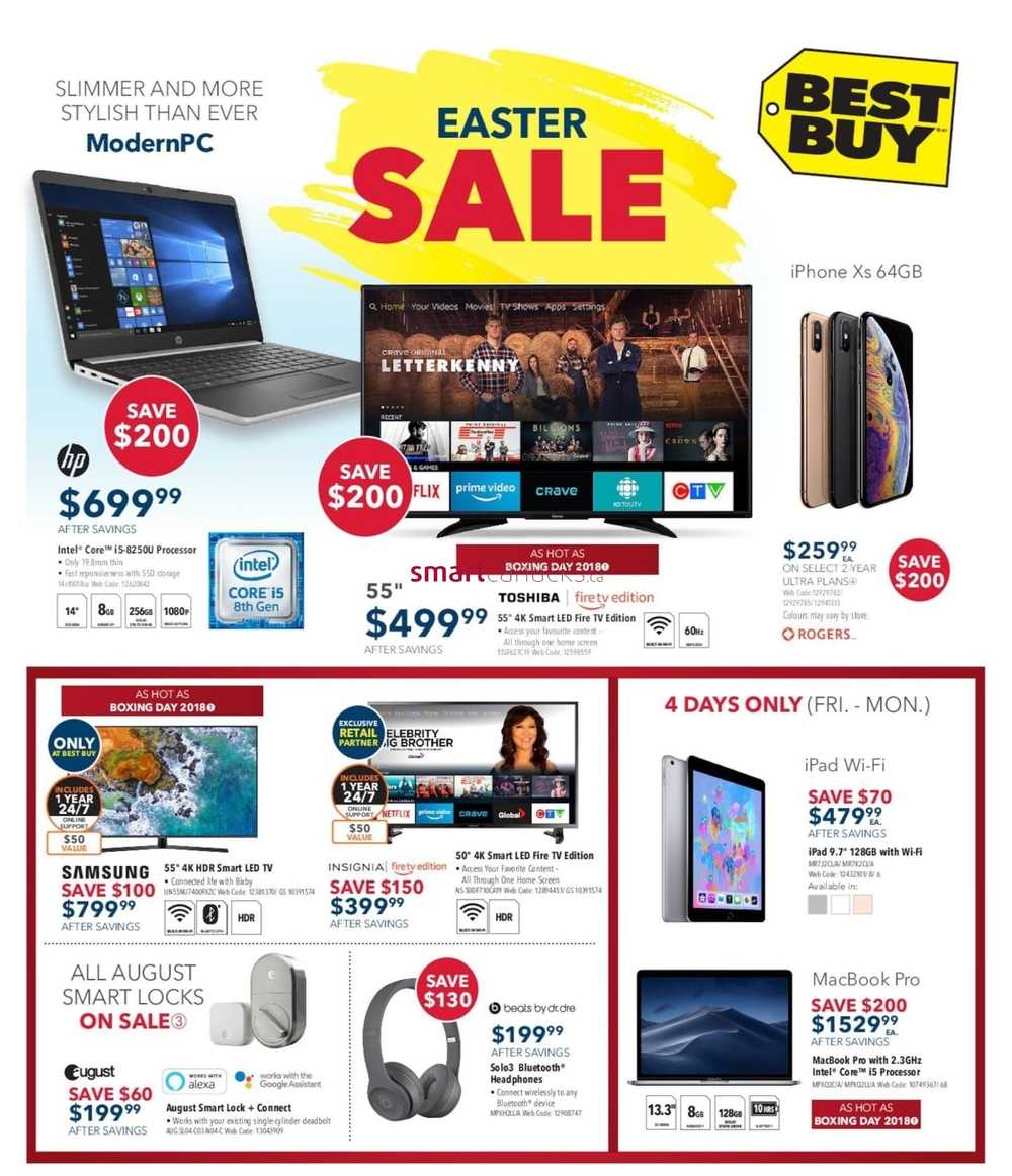 e7f4e9be265 Best Buy Flyer April 19 to 25
