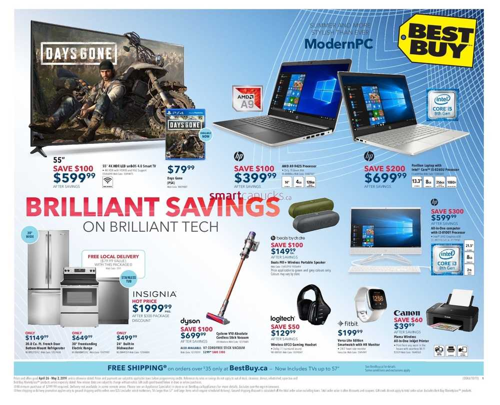 35e0c5c2c9f Best Buy Flyer April 26 to May 2