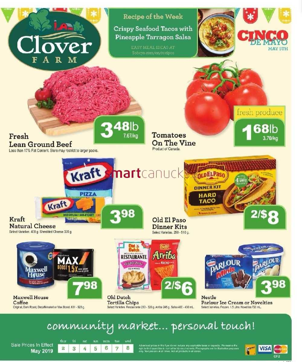 Clover Farm Flyer May 2 to 8