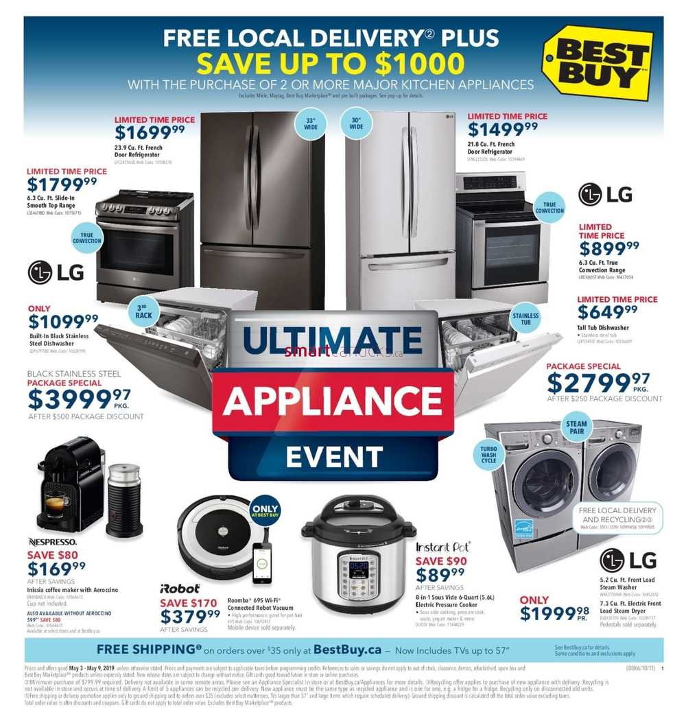 6983daa9c10 Best Buy Flyer May 3 to 9