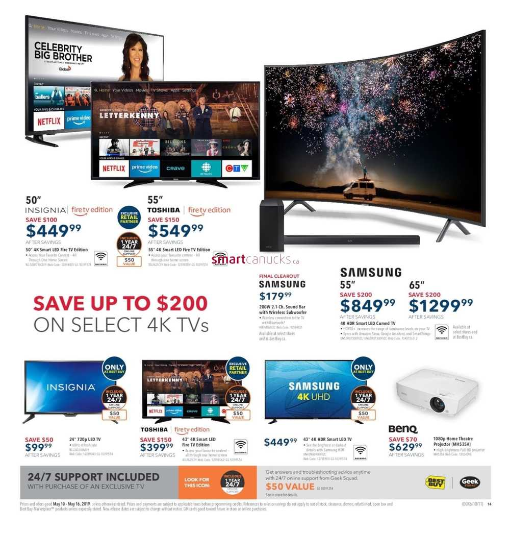 Best Buy Flyer May 10 to 16