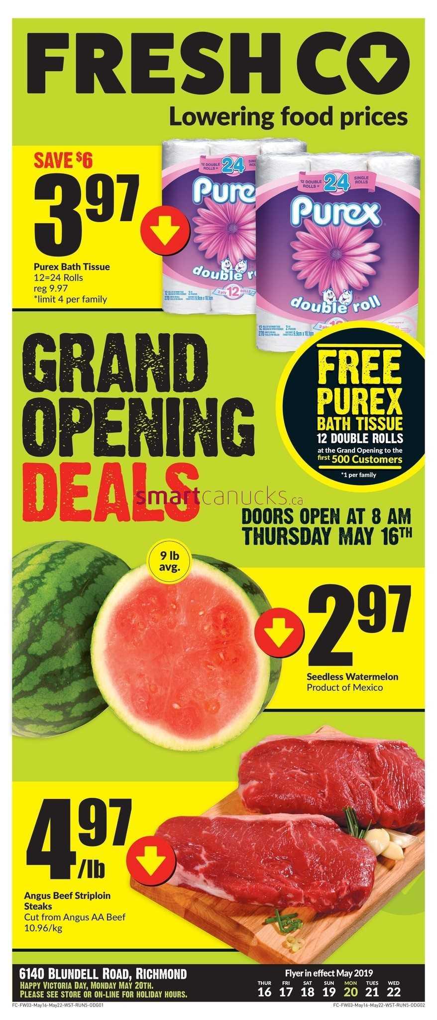 FreshCo (BC) Flyer May 16 to 22